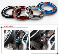 Wholesale Aluminium Alloy Ignition Key Ring DIRECTION FOR MAZDA MAZDA BLACK RED BLUE SILVER
