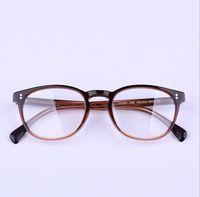 Nuevo tablero de gafas de Óptico marco de gafas Ópticos para las mujeres Myopia Oliver Pueblos 5298 Gafas de la marca de fábrica del diseñador de la marca con el caso original
