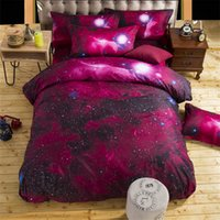 bedding duvet cover sell - Galaxy New D Bedding Sets cotton Universe Outer Space Duvet cover Bed Sheet sell pillowcase Twin Queen XK001