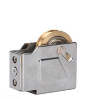 Wholesale stainless steel window roller aluminum alloy window and door sliding door window pulley household brass wheel roller