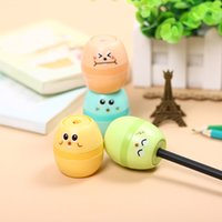 Wholesale Kawaii Stationery Professional Egg Pencil Sharpener for Kids Office Student Learning Supplies