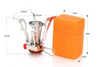 Wholesale hot salePortable Folding Mini Camping Stove Outdoor Gas Stove Survival Furnace Stove