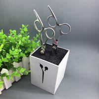 Wholesale Professional Salon Beauty Hair Scissors Holder Scissor Set Storage Box High Quality colors to Choose