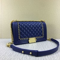 Wholesale Highest Quality Women s fashional designed quilted chain bag multiple color
