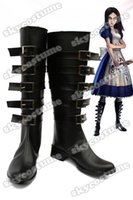 alice boot - Alice Madness Returns Default Cosplay Boots Shoes