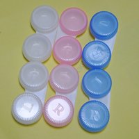 contact lens case - freeshipping mixded colors contact lens case
