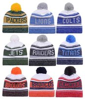 Wholesale New Arrival Beanies Hats American Football team Beanies Sports Beanie Knitted Hats drop shippping Snapbacks Hats album offered B23