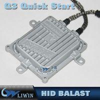 achat en gros de rapide 55w de démarrage rapide-12V 55W AC Fast Bright ultra mince Ballasts 0.1 deuxième Quick Start HID Xénon Ballasts AC authentique numérique de haute qualité supérieure