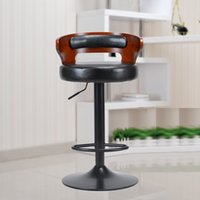 Wholesale dining room rotation chair hotel restaurant stool white black seat public house European furniture market stool retail