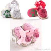 Wholesale 3 colors new arrivals soft sole baby kids Girl Sandals baby summer pink white red bow Sandals