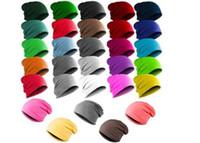 Wholesale New Men Women Soft Unisex Hip hop Cap Beanie Hat Winter Slouch
