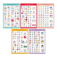 Wholesale 5sheets pack Happy Days Stickers Diary Decoration Stickers Planner Sticker Scrapbook Decorative Stickers Lovely Diy Design Toys