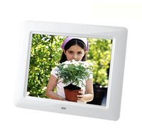 photo frame gifts - 8 inch digital photo frame electronic built in lithium digital advertising gift album