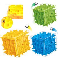 ball labyrinth - D Maze Magic Cube Puzzle Speed Cube Labyrinth Rolling Ball Toys Puzzle Game Cubos Magicos Educational Intelligence Toy