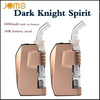 battery watering system - 100 Original Jomotech Dark Knight Spirit full kit W vaporizer kits T414 Wax vaporizer with water cleaning system mAh built in battery