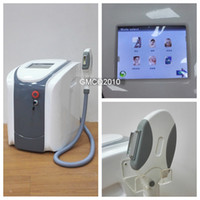 add logos - 2016 new arrival touch screen portable SHR IPL hair removal machine with one handle and filters could add logo