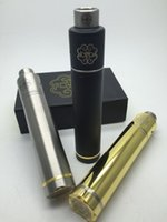 Pétri rda Prix-Vente en gros-2016 plus récent Petri style cigarette électronique 18650 mécanique Mod avec RDA Atomizer Rebuildable Vaporisateur drip tip kit