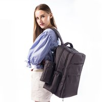 backpack travel europe - Fashion Europe style baby diaper bag backpack big capacity mother dad backpack Breathable travel nappy changing bag stroller bag