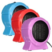 Wholesale Durable Quality Hot Selling Mini Personal Ceramic Space Heater Electric Winter Warmer Fan Blue US Plug