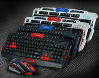 Wholesale Hot Sale HK8100 Professiona intelligent High Sensitivity Wireless Gaming Mouse and Keyboard combo kit for pc laptop