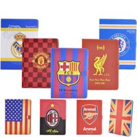 Wholesale hot sale tablet case high quality super slim world cup football team folio smart leather case for ipad mini air air pro