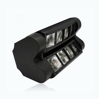 Wholesale Stage Moving Head Light Mini Spider x3W with RGBW Color LED Light Disco Lamp DMX512