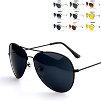 aviator accessories - New Summer Women s Men s Classic Aviator Silver Mirrored Lens Brown Gold Black Sunglasses Fashion Accessory