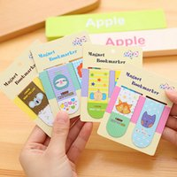 Wholesale Pack New Novelty Animals Cartoon Magnet Bookmark Paper Clip School Office Supply Gift Stationery H1830