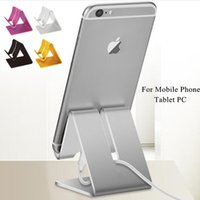 Wholesale Metal Aluminium Tablet PC Stand Holder Support For iPad Air Mini For Samsung Tablet Mount