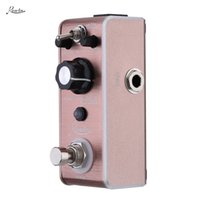 Wholesale Rowin Exquisite LEF Flanger Pedal Mini Portable Guitar Effect Pedal True Bypass Classical Analog Rolling Effect