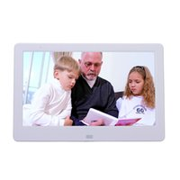 achat en gros de cadre photo numérique hd-Vente en gros-cadre photo numérique 10 pouces HD TFT-LCD porta portrait électronique réveil MP3 / 4 vidéo joueur de film elektronischer bilderrahmen