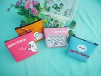bale cards - PU Clutch Bag Handbag Coin Purse key case Baymax Cosmetic Bags Debris Bag Storage Bag Bale Zipper Polyester Fiber Liner linning