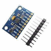 Wholesale High Sensibility Blue MPU9255 Sensor Module Three axis Gyroscope Accelerometer Magnetic Field GY