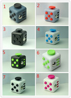 Big Kids Multicolor Plastic 11 styles Fidget Cube Fun Cube anti irritability and Stress toy Juguet DIY Educational Toys for Girl Boys  Adult Christmas Gift
