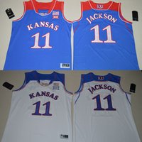 authentic college basketball jerseys - Kansas Jayhawks Josh Jackson College Basketball Royal Blue White Authentic Jersey Size S M L XL XL XL