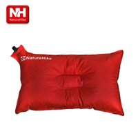 air traveling - NatureHike Ultralight Comfortable Outdoor Traveling camping Automatic Air Inflatable Cushion Pillow Travel Kits CM