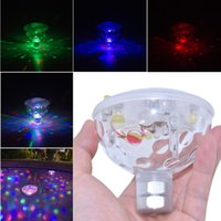 bathtub decoration - New Arrival Stage Party Disco Holiday LED Light IP67 Waterproof for Spa Bathtub Pond Swimming Pool Jacuzzi Decoration Colorful