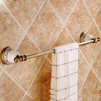 antique bathroom shelf - Vintage Towel Rack Holder Towel Shelf Tower Rail Towel Hanger Antique Decoration Bathroom Hardware Accessories