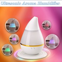 Wholesale Water drop Aroma Diffuser USB Humidifier Air Purifier Atomizer Essential Oil Diffuser Mist Maker Fogger aromatherapy diffuser