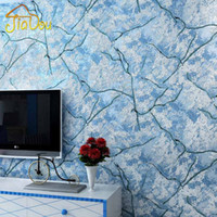 Wholesale Simple Modern Non woven Wallpaper Marble Crack D Simulation Snowy Mountain Wall Paper Living Room Bedroom TV Background Mural
