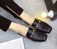Wholesale Fashion superstar shoes fashion rivet Pearl shoes heel womens heels Classic buckle sexy high heels pumps Comfortable low heels