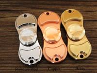 Wholesale EDC Brass Fingertip Torqbar Copper Hand Spinner Stainless steel HandSpinner mm CNC Machined Unibody with High Speed Ceramic Bearing