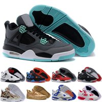 bg pink - With Box Quality Men S White Cements sneaker OG BG GS Retro IV mens basketball shoes China jump man footwear