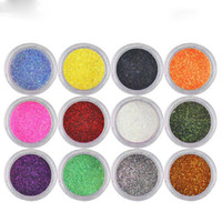 art glitter sets - Nail Glitter Power SET Nait Art Decoration for finger Powder Glitter Effect Dust Shimmer Color