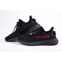 Wholesale With Box SPLY Black Red Stripe CP9652 Limited Boost V2 Men Women Outdoor Shoes True Boost v2 Top Quality sply SIZE8