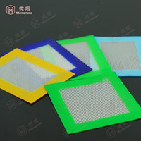 Wholesale Non stick Silicone Concentrate Pad Dry Herb Vaporizer Oil Mat Dab Wax Pads for Drying Extracts x11 cmm x8 cm Cheap