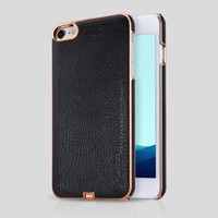 apple iphone transmitter - For iPhone Case Nillkin N Jarl Wireless Charging Receiver Case Power Charging Transmitter Luxury PU Leather PC Back Case Cover