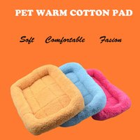 Wholesale New type of warm pet cotton pad dog blanket thickening lamb cushion dog supplies pet supplies