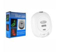 Wholesale Creative selling LED night light color new toilet sensor lights hanging human body sensor lights