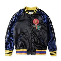 Wholesale Fashion Casual Snake Bee Flower Embroidery Jacket Winter Windproof Men Women Thick Zipper Sports Coat Streetwear